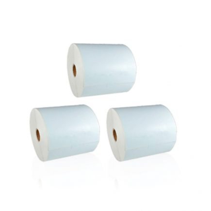 "4 x 6"" Direct Thermal Roll Labels [3 Rolls / 1350 Labels]"