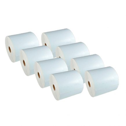 "4 x 6"" Direct Thermal Roll Labels [8 Rolls / 3600 Labels]"