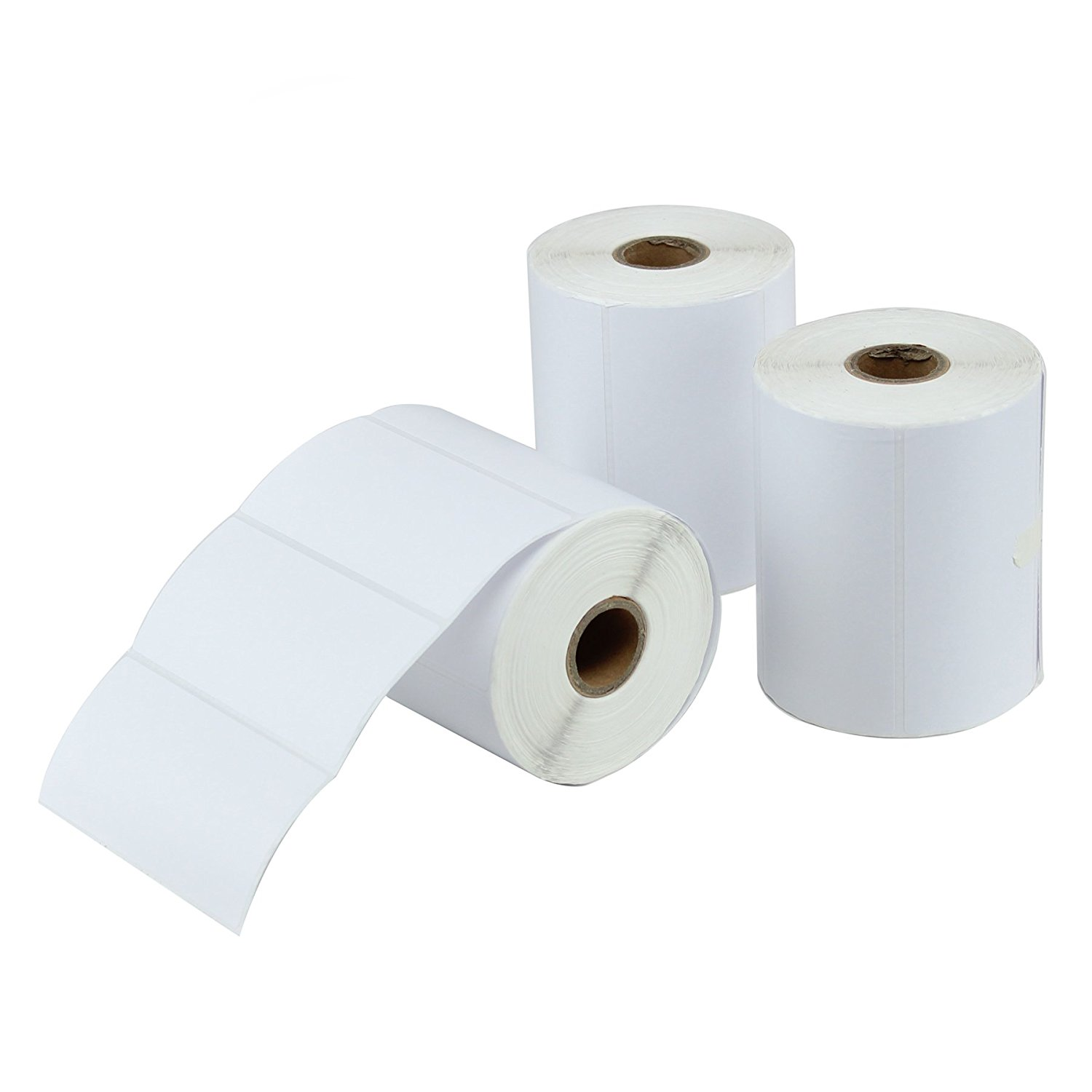"4"" x 2"" Direct Thermal Labels [3 Rolls / 2250 Labels ..."