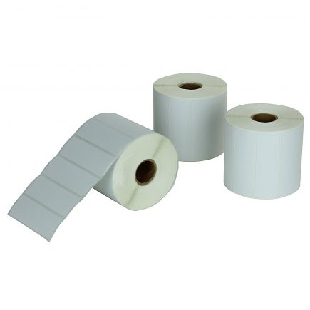 "2-1/4 x 1-1/4"" Direct Thermal Roll Labels [3 Rolls / 3000 Labels]"