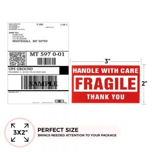 Packing & Box Stickers (80 Sheets