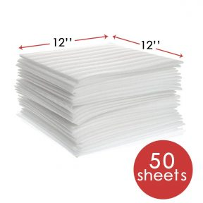 "12"" x 12"" Foam Wrap Sheets (50-Pack)"