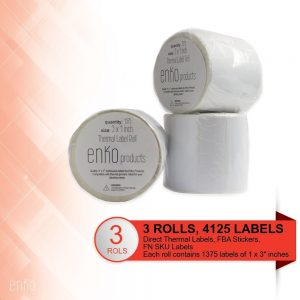 Zebra Compatible 3″ X 1″ Thermal Paper Labels