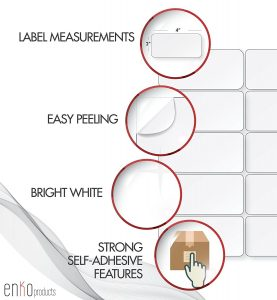Avery 5163 Compatible Shipping Labels