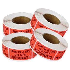 This Is A Set Do Not Separate Labels 1″ x 2″ (1 Roll, 500 Labels)