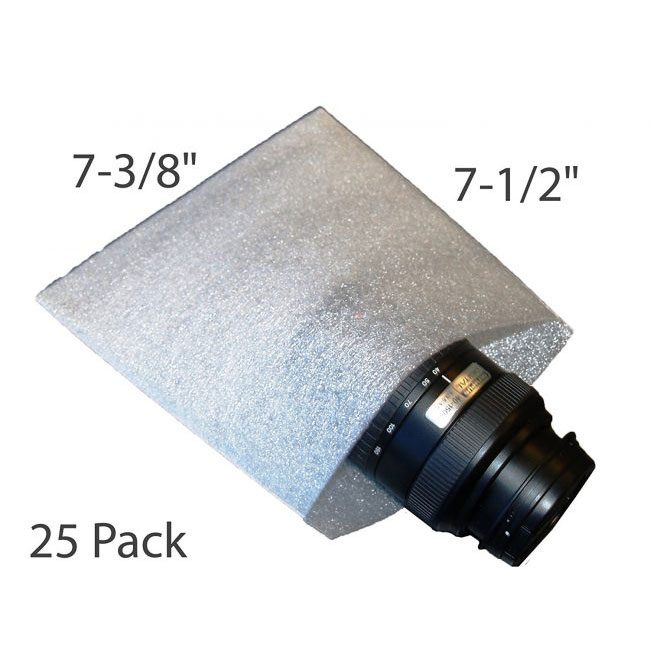 7-3/8 Foam Pouches for Packing
