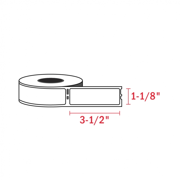 Dymo 30252 Compatible Address Labels, 1-1/8″ x 3-1/2″