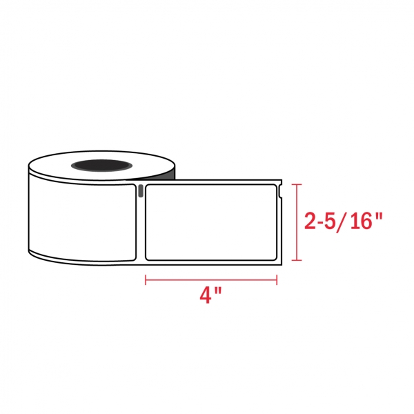 Dymo 30256 Compatible Shipping Labels, 2-5/16″ x 4″