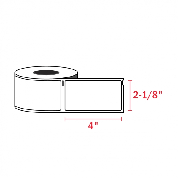 Dymo 30323 Compatible Address Shipping Labels, 2-1/8″ x 4″