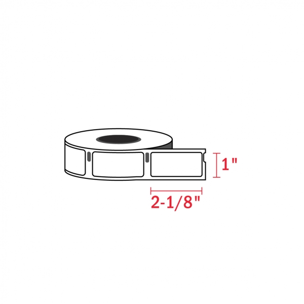 Dymo 30336 Compatible Address Mailing Labels, 1″ x 2-1/8″