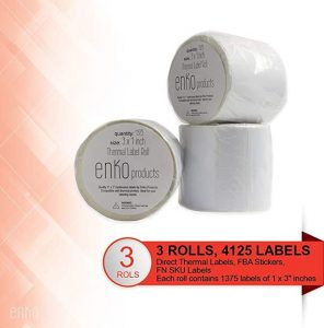 Zebra Label Printer Rolls 4125